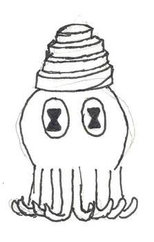 Weird squid