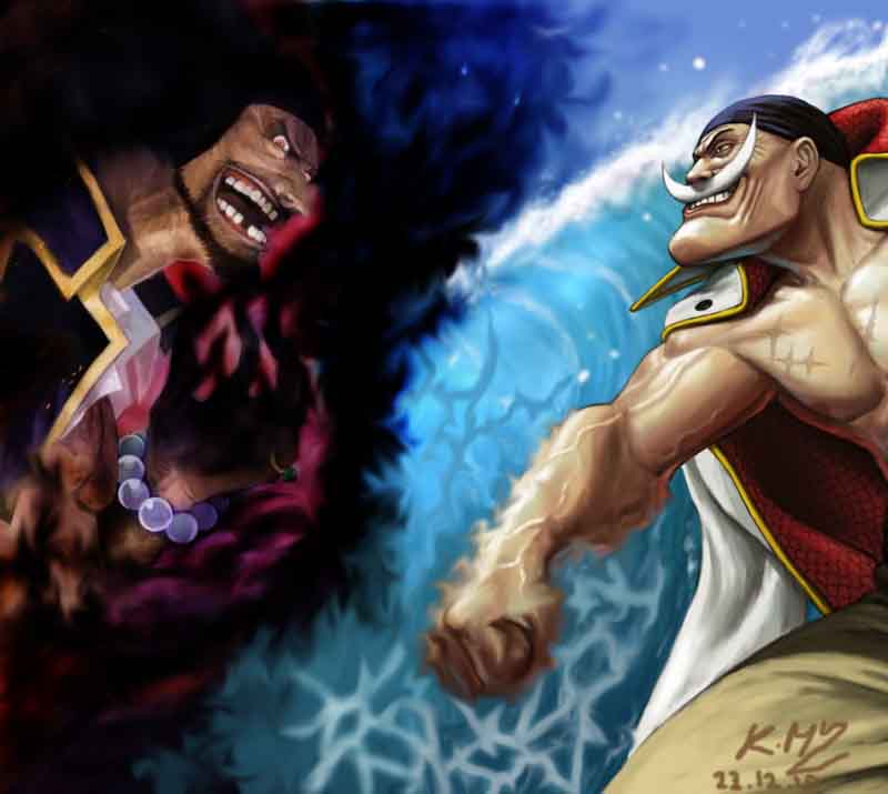 Blackbeard Vs Whitebeard By TheAlzaran91
