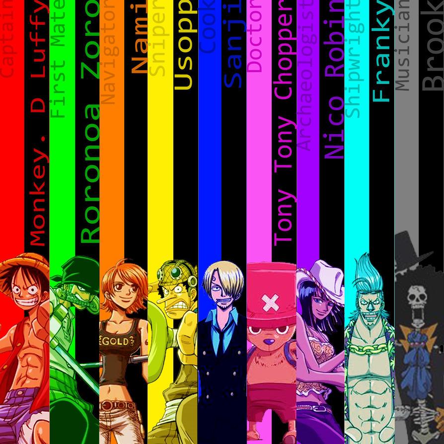 One Piece, Le Phénomène Japonais ! The_straw_hat_pirates_by_thealzaran91-d3ln4qe