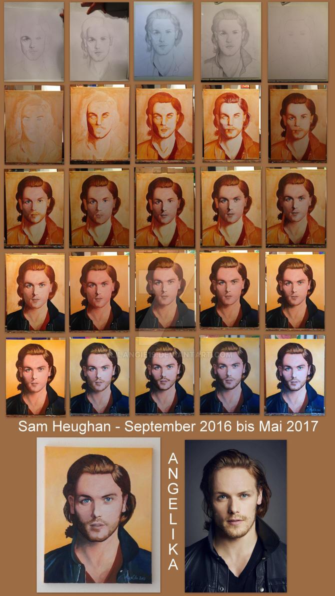 Sam Heughan Portrait - single shots by lilangie19
