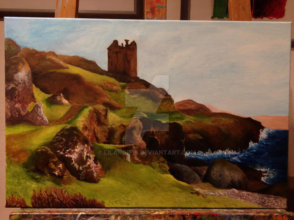 Scotland Landscape by lilangie19