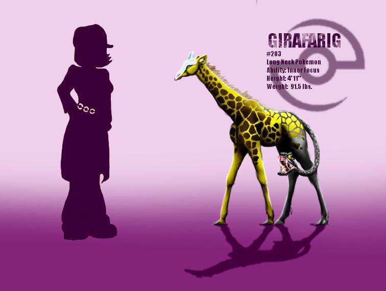 Imagenes , loles - Página 20 Girafarig_by_miragedtheory-d5lat5l
