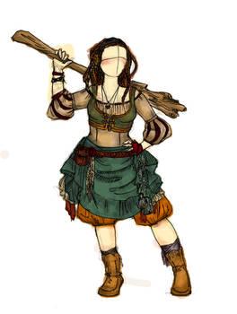 Vistani LARP Character Design