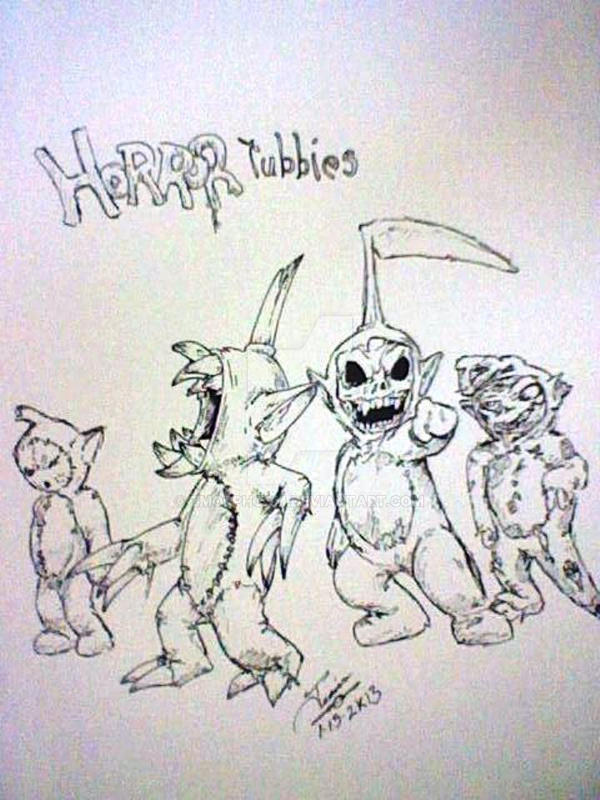 Horror Tubbies by zmorphcom