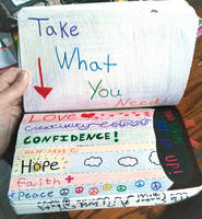 Wreck this Journal: tear strips, rip it up by heather24242
