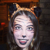 Tiger makeup!! by heather24242