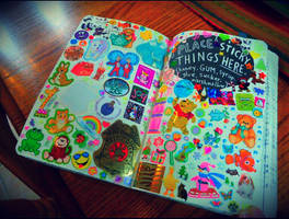 Weck this Journal: Place Sticky Things Here by heather24242