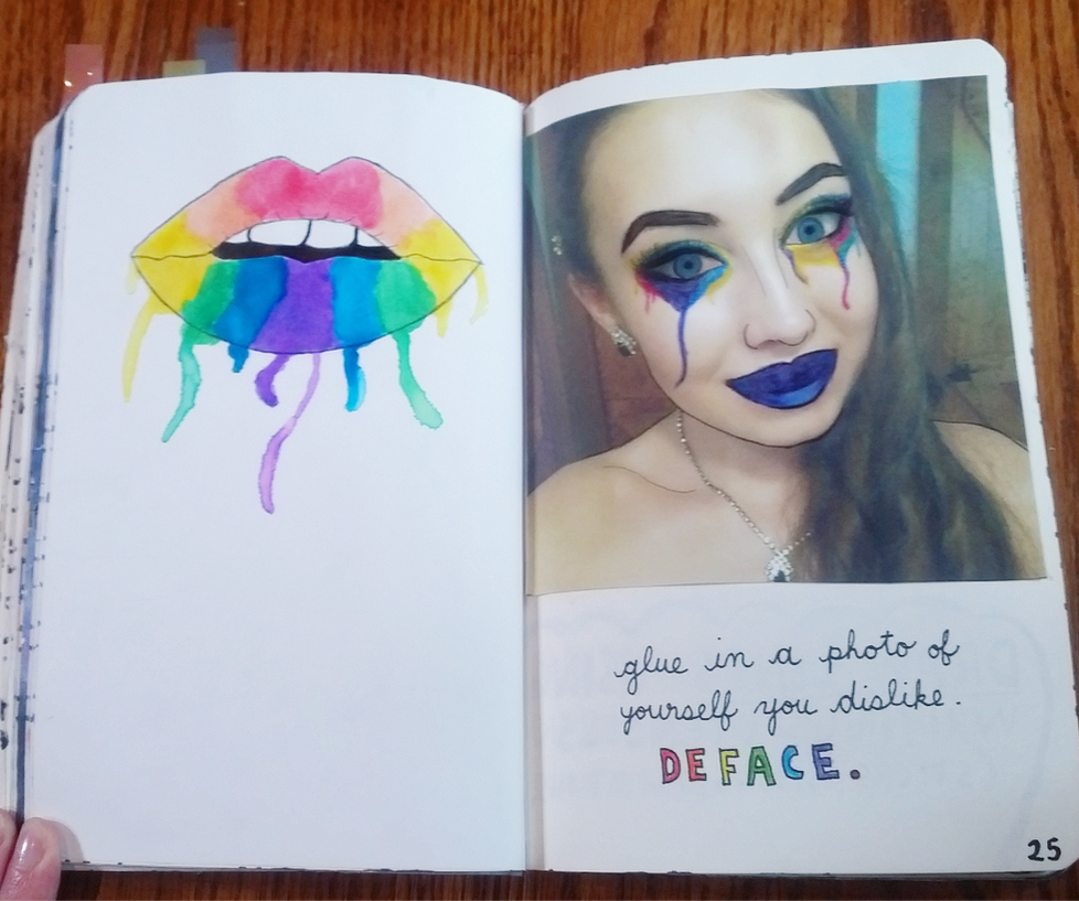 Wreck this journal deface a photo of yourself by heather24242 on wreck this journal deface a photo of yourself by heather24242 solutioingenieria Images