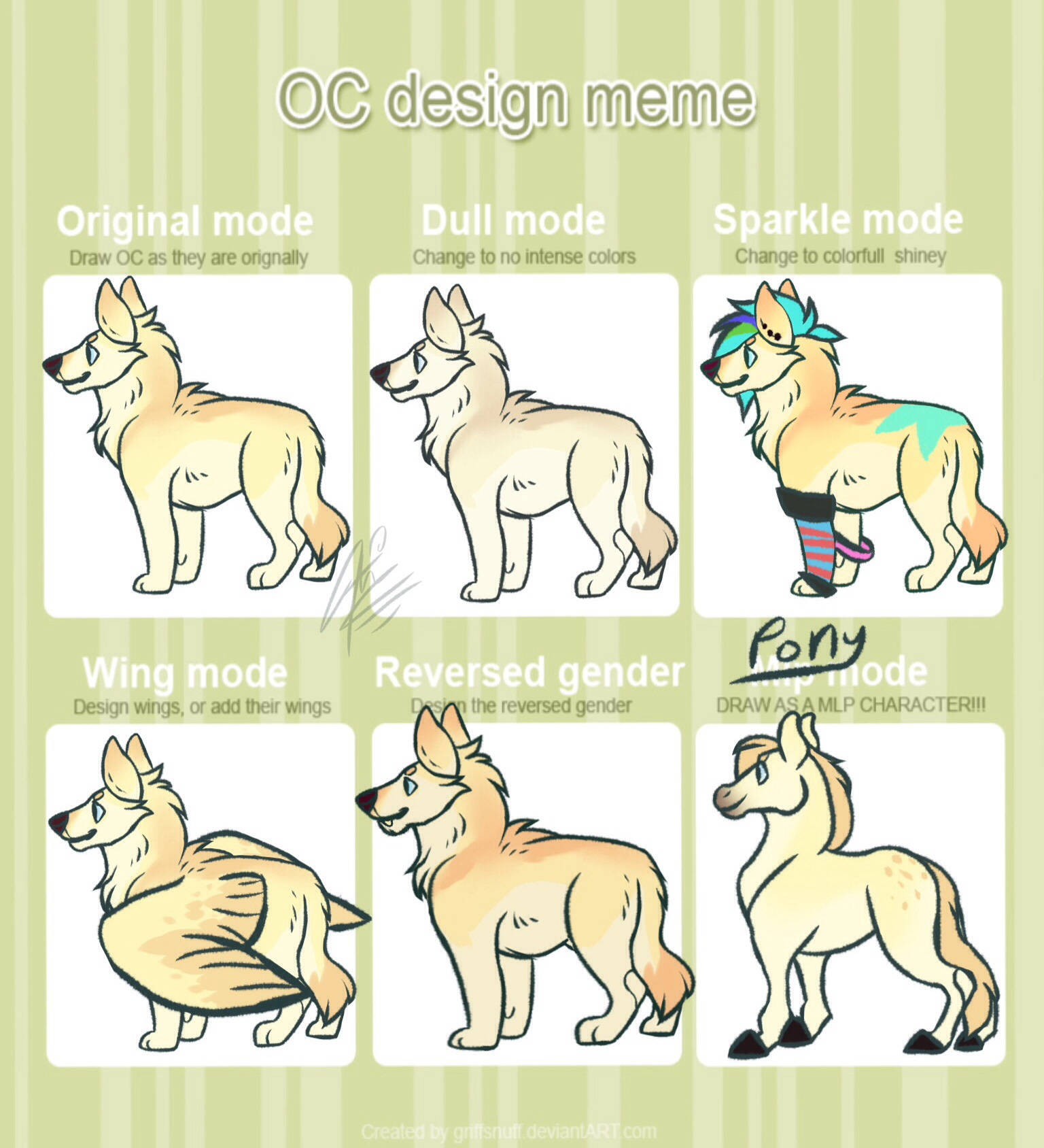 Goose's Design Meme by alridpath