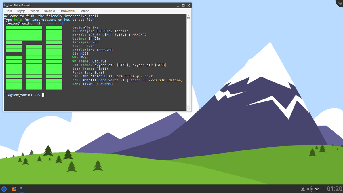 Flat KDE by PokerLegion