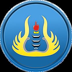 UNP Logo Ring by erdie1design