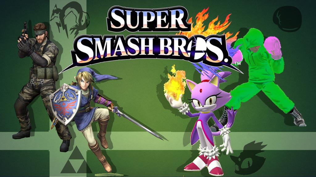 Super Smash Bros Wii U 3DS Wallpaper By 1TheGreenWii1