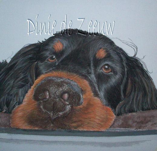 lazy dog by Dinie1971