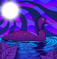 Duck By Night by hazyoasis