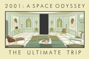 2001: A Space Odyssey by hazyoasis