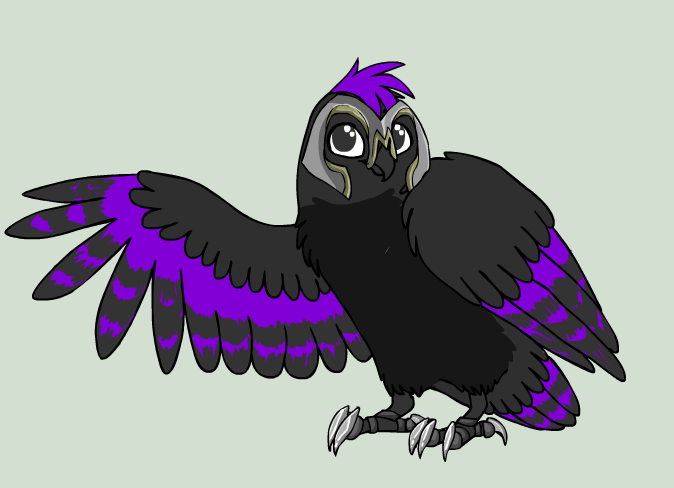 Dusk Owl Fighter by DuskWolf300
