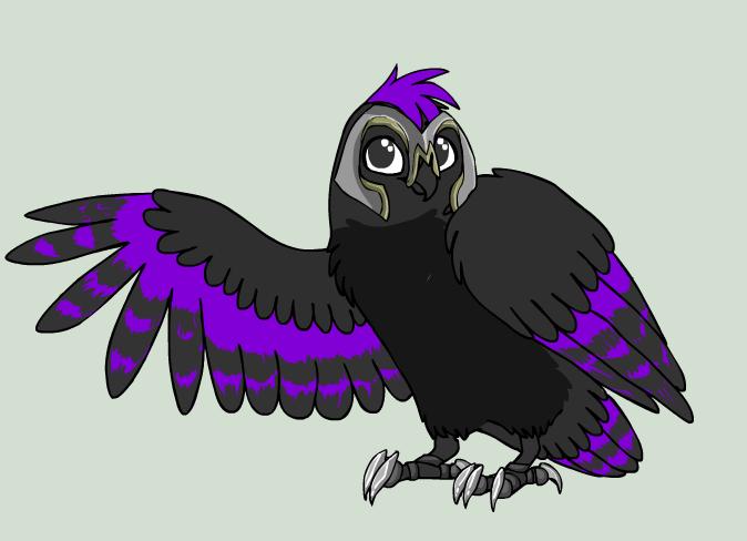 Dusk Owl Fighter by DuskWolf300