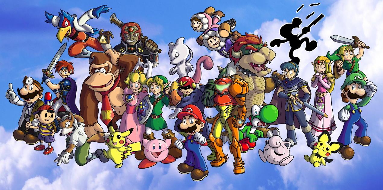 Super Smash Bros Melee By ChetRippo