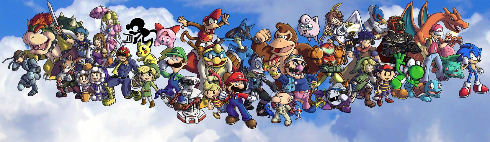Super Smash Bros. Brawl-OLD-