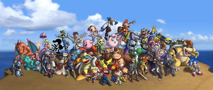 Super Smash Bros. Brawl by ChetRippo