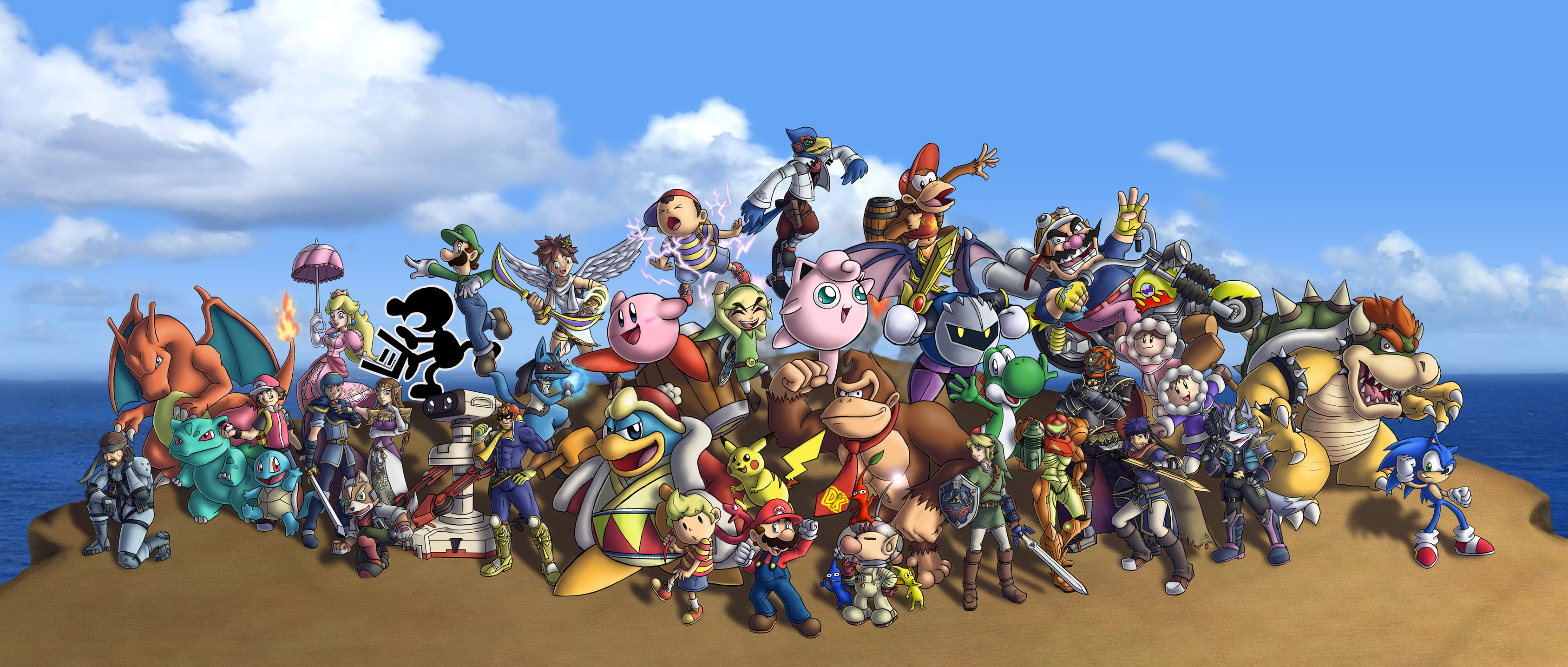 Super Smash Bros. Brawl by ChetRippo