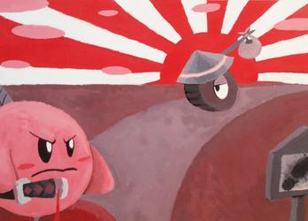 Samurai Kirby by ChetRippo