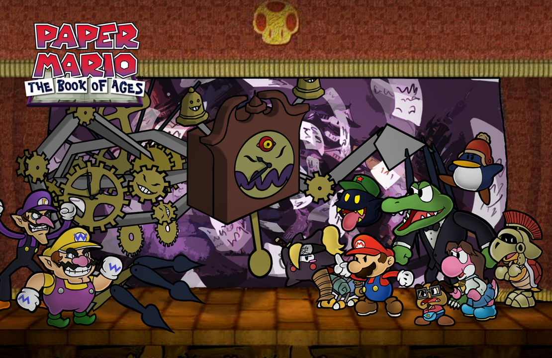 Paper Mario Countdown To Chaos Bosses Viewing Gallery