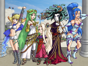 Godesses of Angel Land
