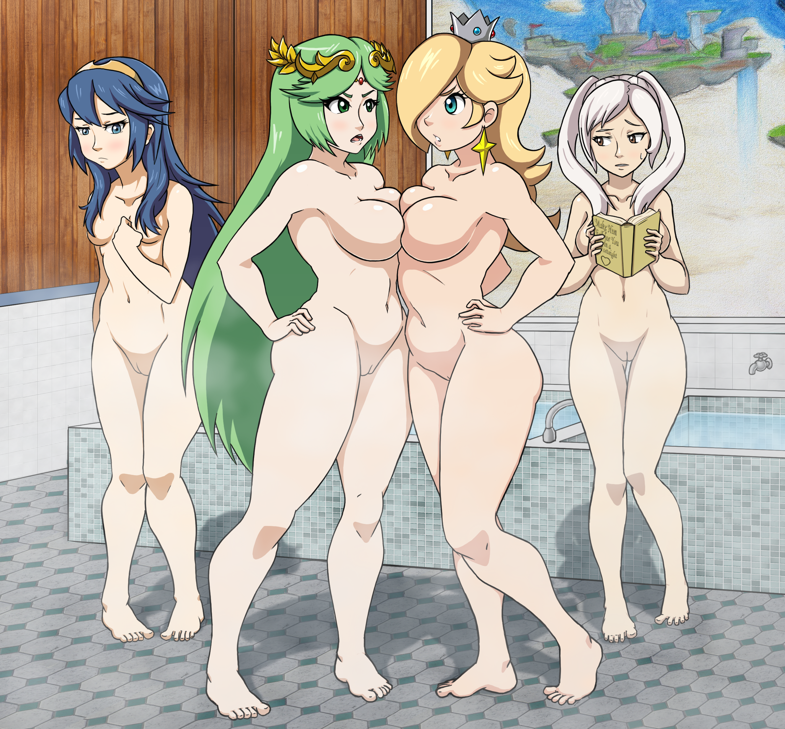 super smash girls naked