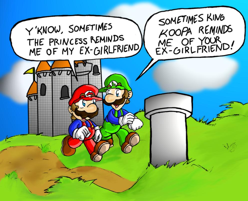 funny mario and luigi jokes - photo #25