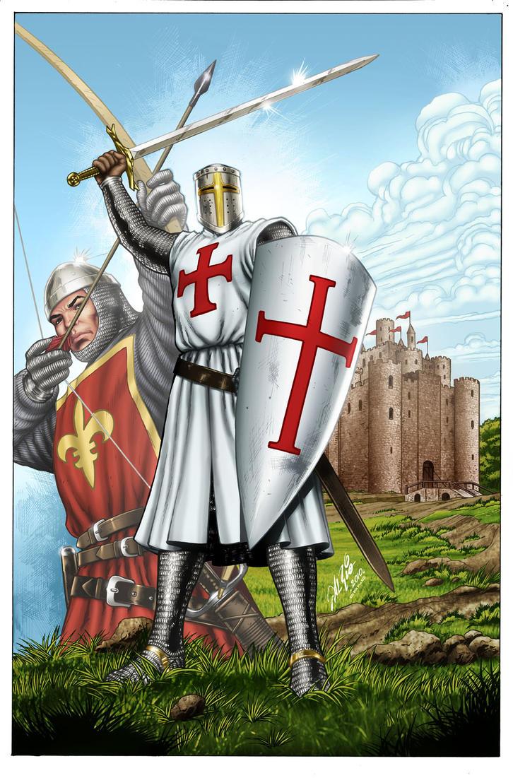 Templar Knight by Al Rio by jocachi