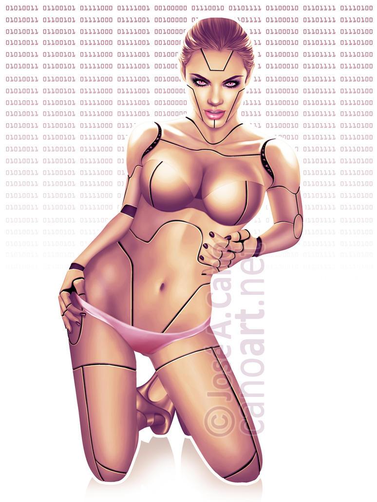 Sexy Robot by jocachi