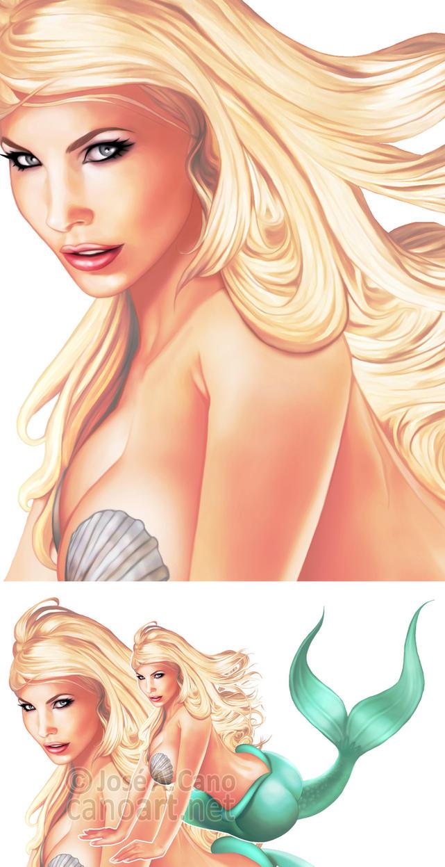 Mermaid by jocachi