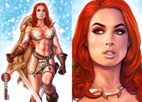 Red Sonja - Commission by jocachi