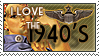 I love the 40's Stamp by Lar-Ki