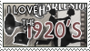 I love the 20's Stamp by Lar-Ki