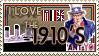 I love the 10's Stamp by Lar-Ki