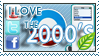 I love the 00's Stamp by Lar-Ki