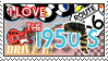 I love the 50's Stamp by Lar-Ki