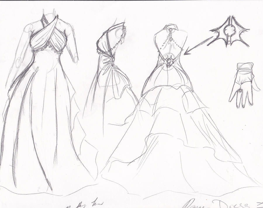 coloring pages of prom dresses - prom dress by gildamesh on deviantart