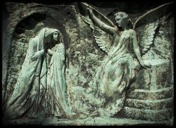 Peasants and Angel by thefarthestshore