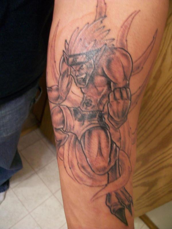 naruto tattoo by gundam83 on deviantart