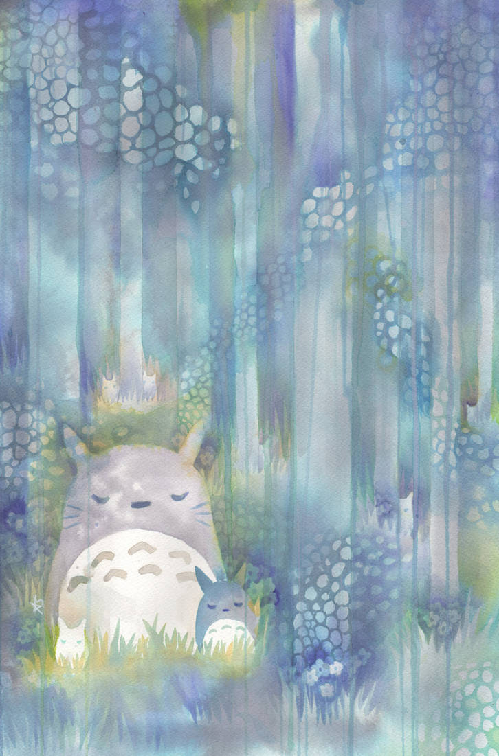 Totoro by QueenofCuriosity