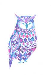 Owlie Owl by QueenofCuriosity
