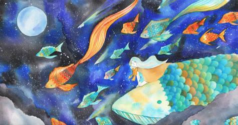 Ocean Sky by QueenofCuriosity