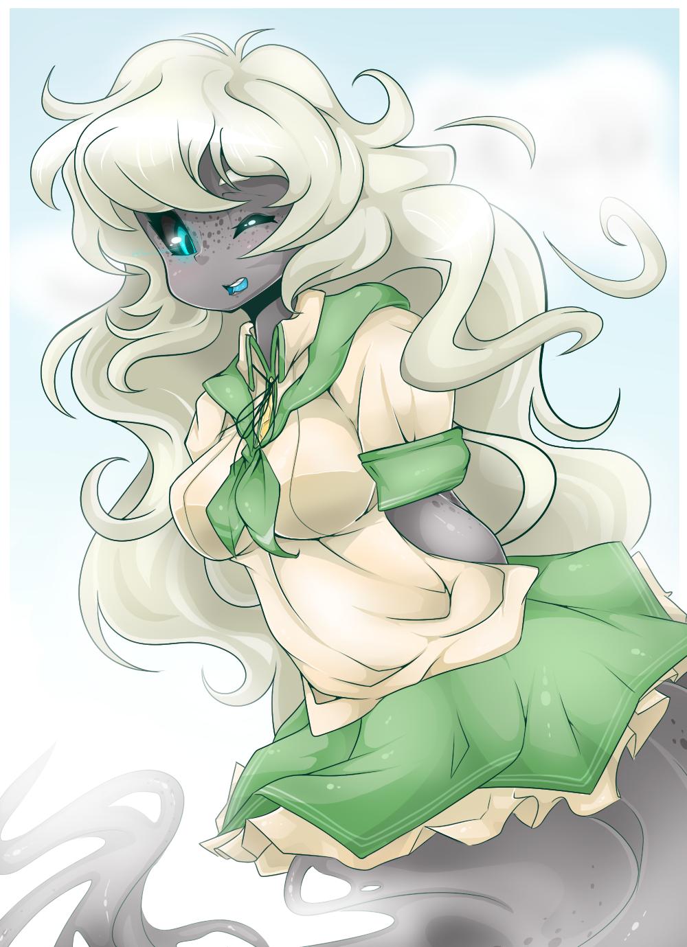 Schoolgirl Aura by Miss-Vani