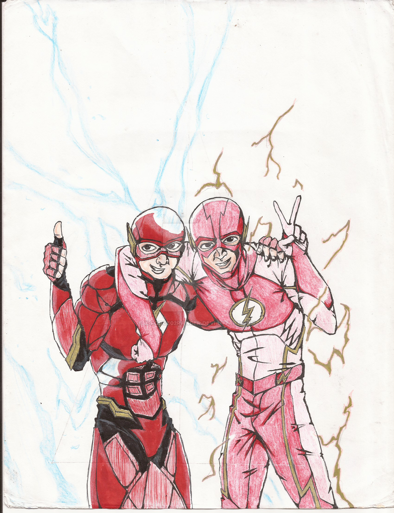 The Flash of 2 Worlds by X-Force02ranger