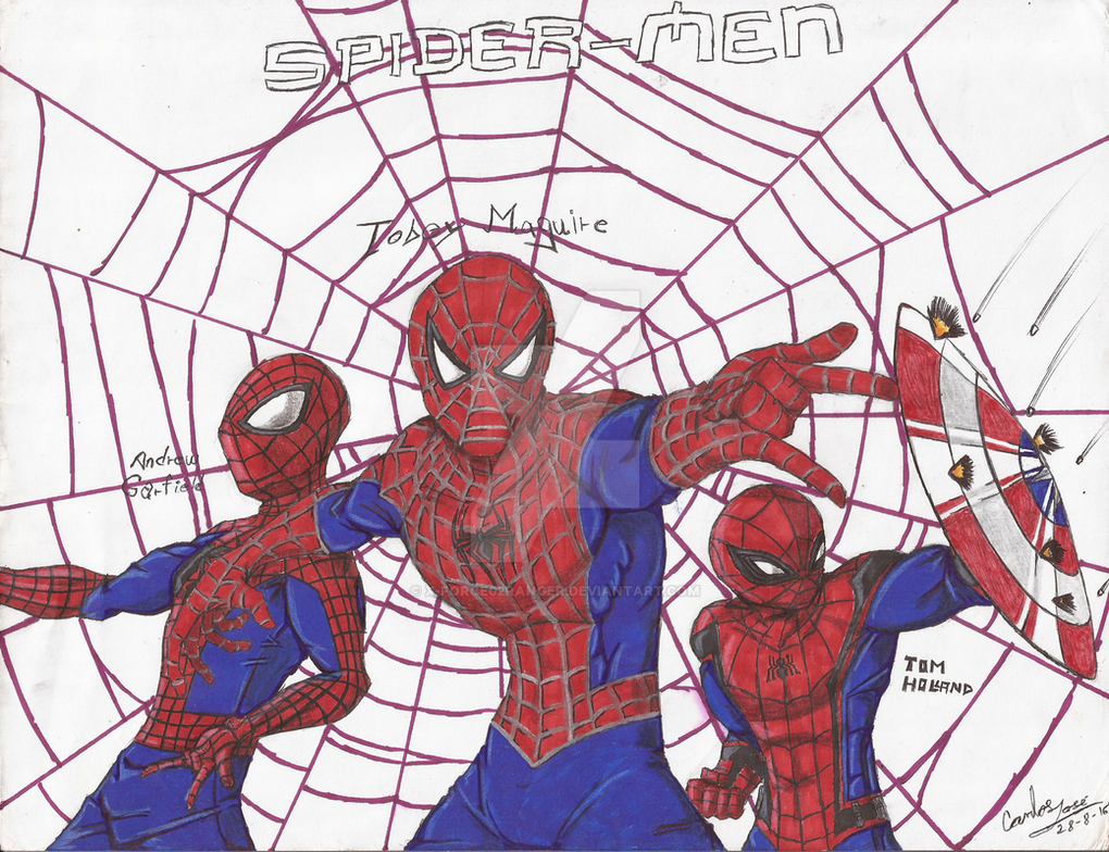 Spider-verse(movies) by X-Force02ranger
