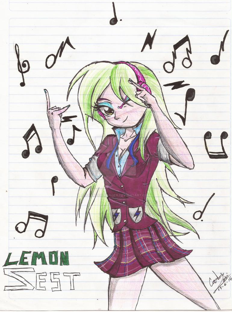 Lemon Zest posing by X-Force02ranger by X-Force02ranger