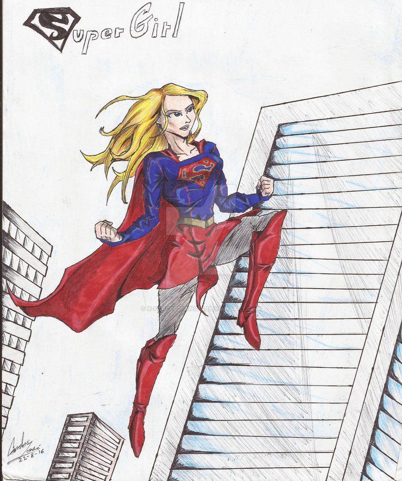 Supergirl by X-Force02ranger